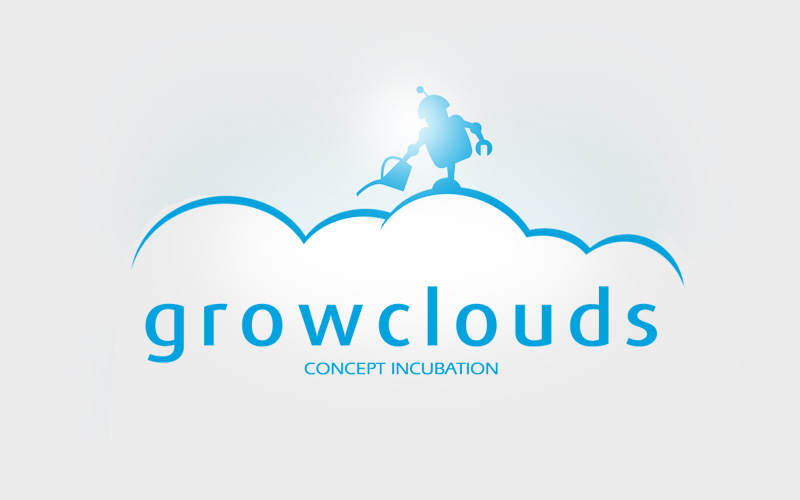 Grow Clouds Logo