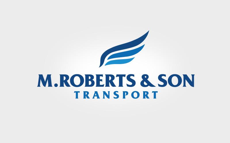 M Roberts Transport Branding
