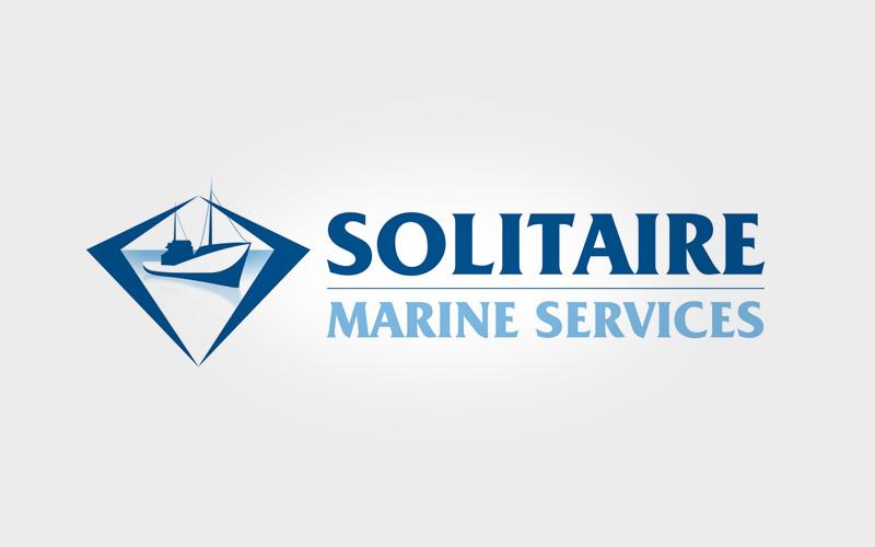 Solitaire Marine Logo Design
