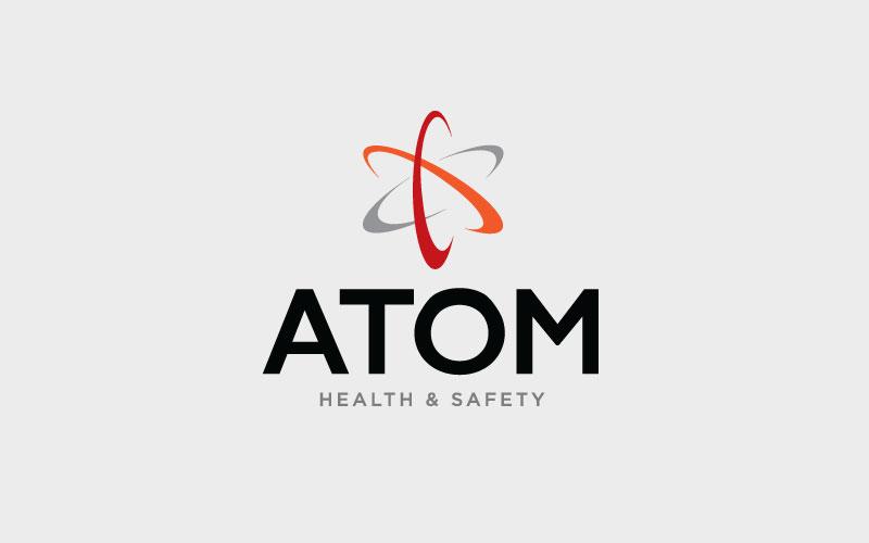 Atom Health & Safety Logo Design