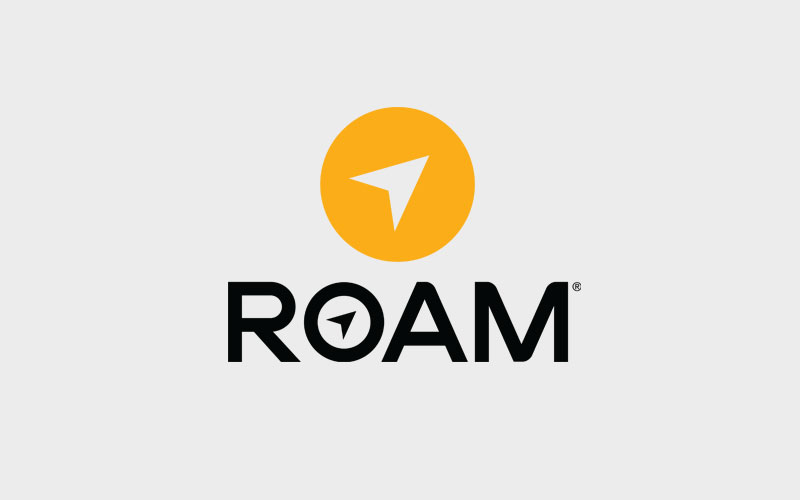 Roam Headphone Logo Design