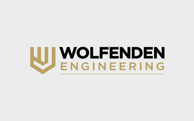 Wolfenden Engineering Logo Design